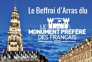 Le monument préféré des Français 2015 : Le Beffroi d'Arras